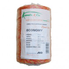 Polyetylénové lanko pre elektrické ohradníky 2 mm ECONOMY