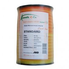 Polyetylenová páska pre elektrický ohradník Eco-line, 20 mm, ž-o