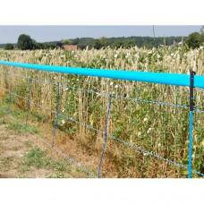 Signálna páska pre sieť proti divej zveri, modrá, 250 m