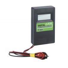 Skúšačka na batérie so záťažou 33 Ω, 0 - 20 V, digitálna nenašla