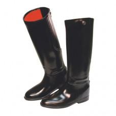 Topánky jazdecké PVC FLEXO, čierne